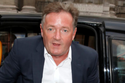 Piers Morgan accused of going on holiday