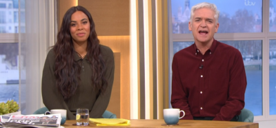 Rochelle Humes and Phillip Schofield on This Morning - Where is Holly Willoughby