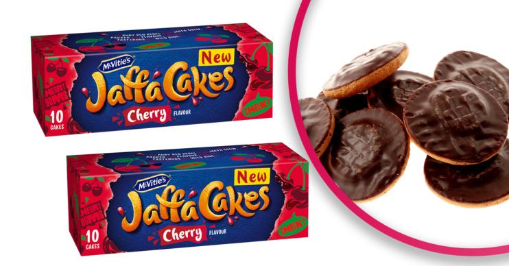 cherry Jaffa cakes