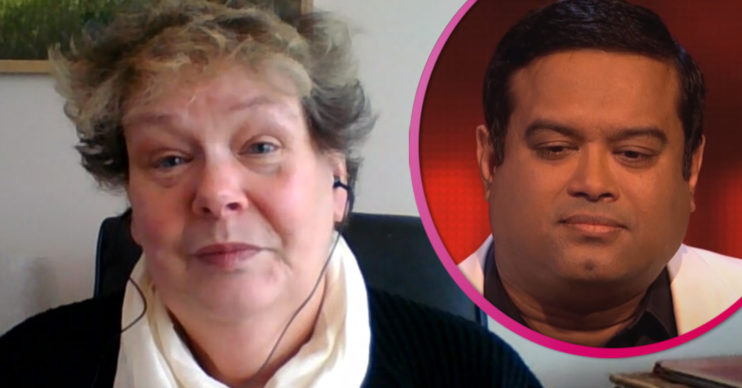 Anne Hegerty and Paul Sinha