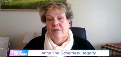 anne Hegerty on Loose Women