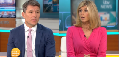 Kate Garraway speaks about husband Derek on GMB