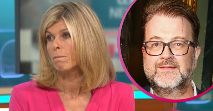 Kate Garraway and her husband Derek