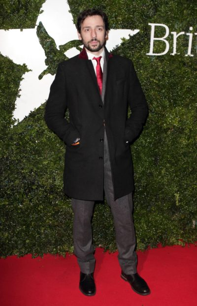 Ralf Little on red carpet