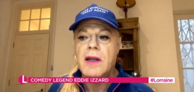 Eddie Izzard on Lorraine