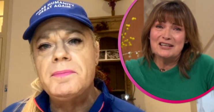 Eddie Izzard choked up on Lorraine over gender