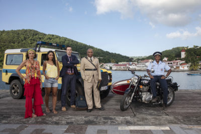 Cast of Death in Paradise