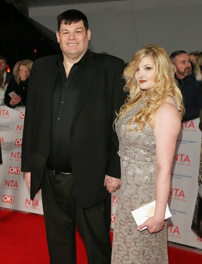 Mark Labbett and ex-wife Katie