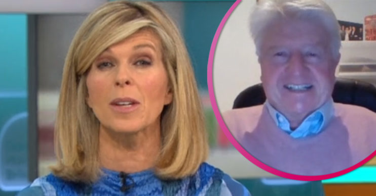 Kate Garraway and Stanley Johnson on GMB
