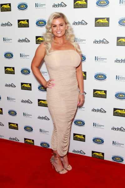 kerry katona on the red carpet