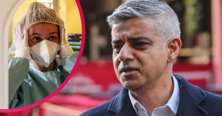 London Mayor and coronavirus cases