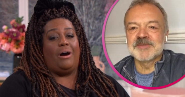 Alison Hammond on This Morning with Graham Norton