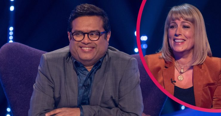 The Chase star Paul Sinha and Fay on TV Showdown