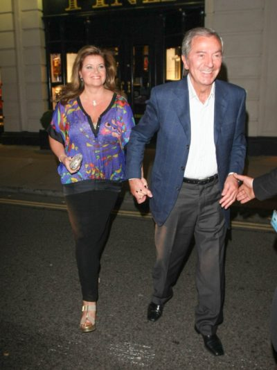 Des O'Connor and Jodie Brooke Wilson