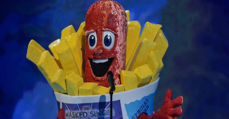 Who is Sausage on Masked Singer UK