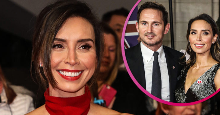 Christine Lampard and Frank pregnant