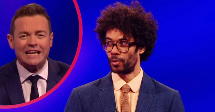 Richard Ayoade Celebrity Catchphrase