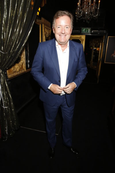 Piers Morgan has called Eamonn Holmes his weight-loss inspiration