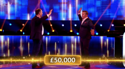 Beat The Chasers Michael won £50k