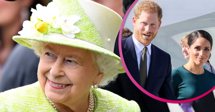 The Queen and Harry and Meghan - latest news