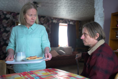 Pat and Andrew Cooper in The Pembrokeshire Murders on ITV1
