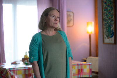 Caroline Berry portrays Pat Cooper in The Pembrokeshire Murders. But where is John Cooper's son now? (Credit: ITV1)