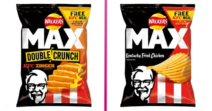 Walkers KFC crisps