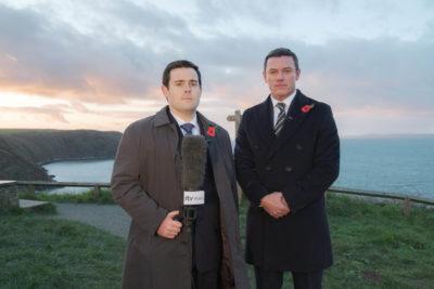David Fynn and Luke Evans star in The Pembrokeshire Murders on ITV1