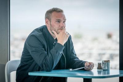 Joe Absolom portrays Andy Warren in The Bay on ITV1