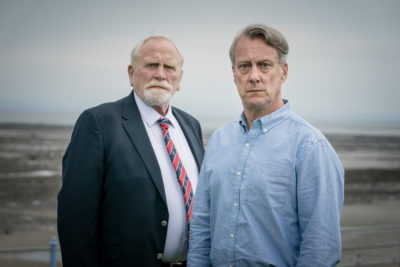 James Cosmo and Stephen Tompkinson in The Bay on ITV