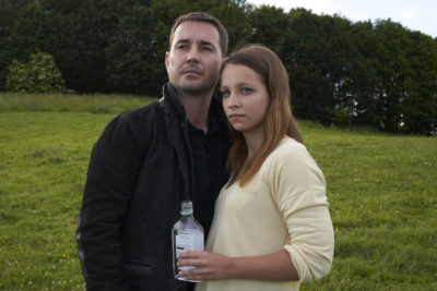 Martin Compston and Molly Windsor in Traces on BBC One