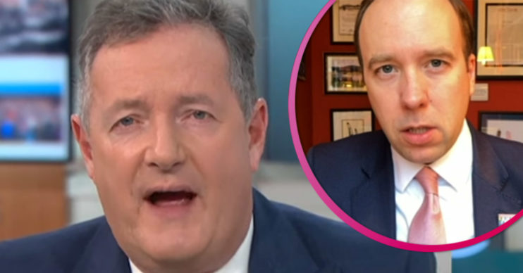 Piers Morgan interview Matt Hancock on GMB