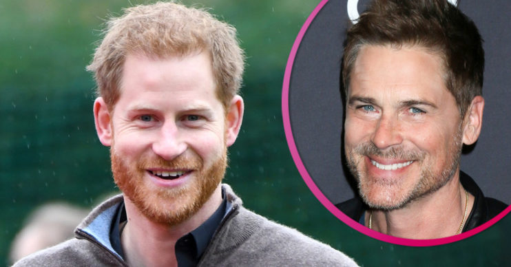 Prince Harry changed hair, according to Rob Lowe