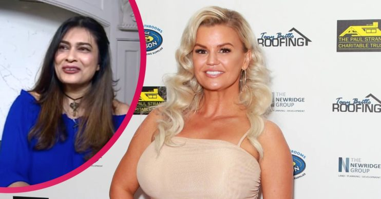 Nisha and Kerry katona