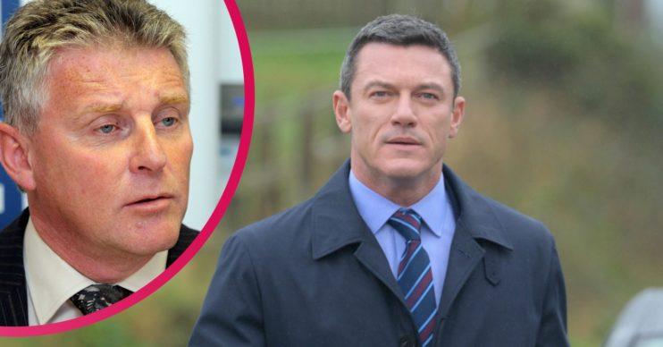 Steve Wilkins, ex police officer, and Luke Evans in The Pembrokeshire Murders