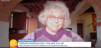 Miriam Margolyes on GMB