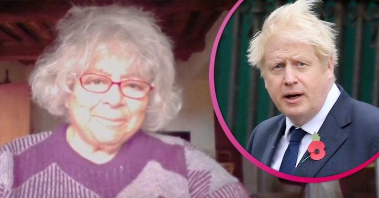 Miriam Margolyes takes aim at Boris Johnson on GMB