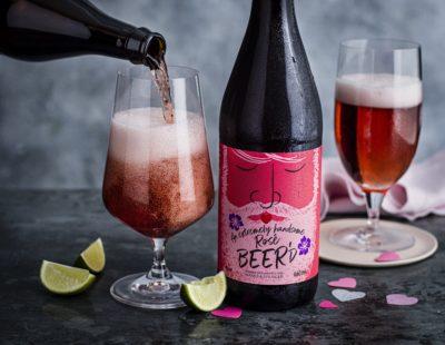 M&S pink beer