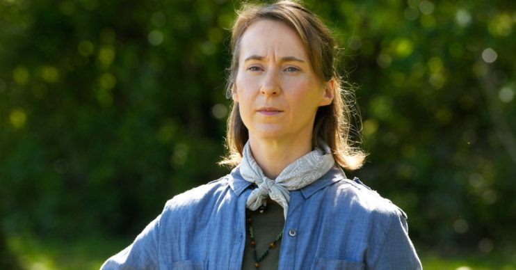 Bryony Hannah in death in Paradise