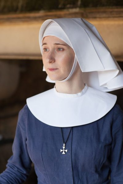 Bryony Hannah in Call the Midwife