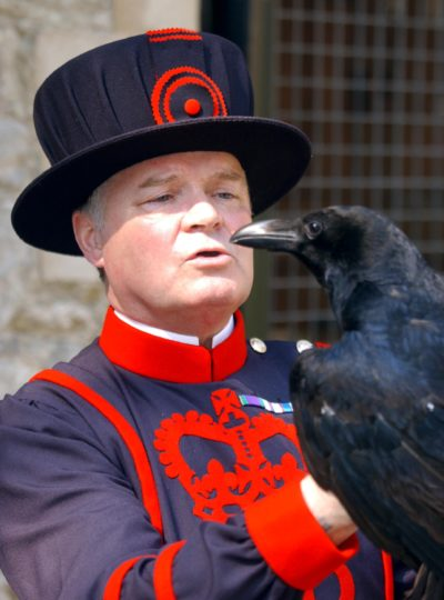 keeper of the ravens at the tower of London