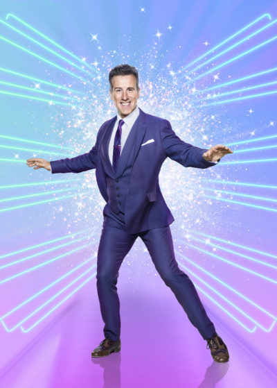 Anton du beke on strictly