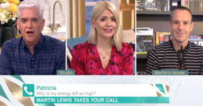 Phillip Schofield offered to pay an elderly woman's energy bill