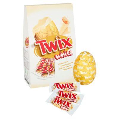 white twix Easter egg