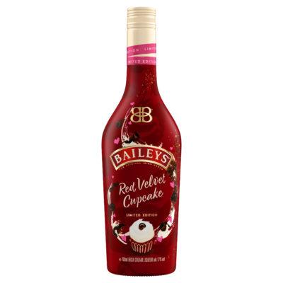 bottle of baileys red velvet