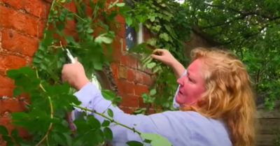 charlie dimmock on garden rescue