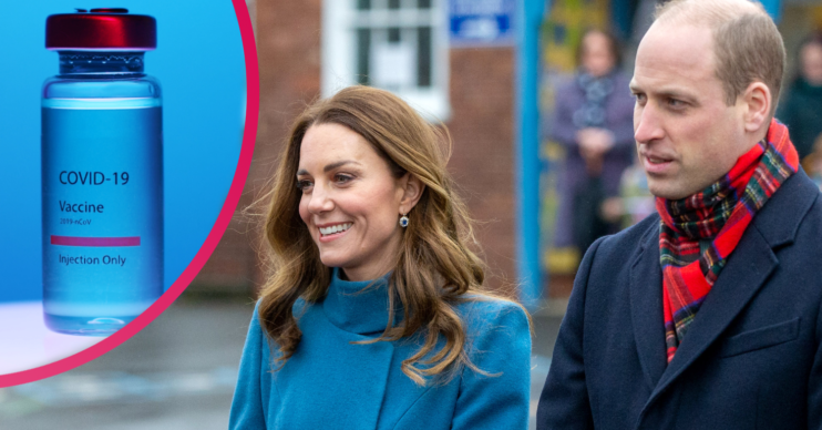 Could Prince William and Kate Middleton receive their jabs live on-camera?