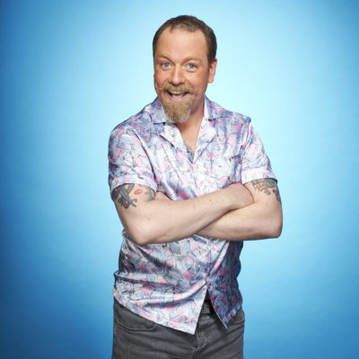 Rufus hound dancing on ice press shot