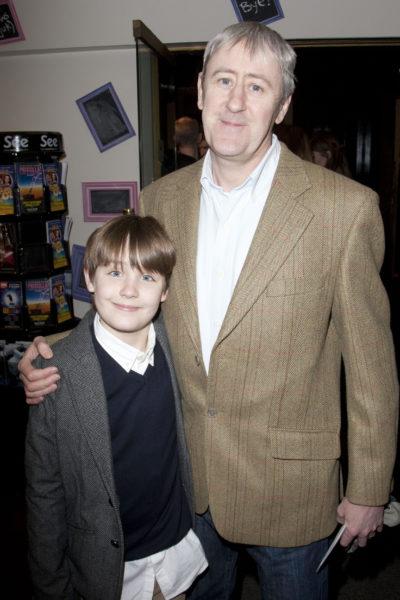Nicholas lyndhurst and his son