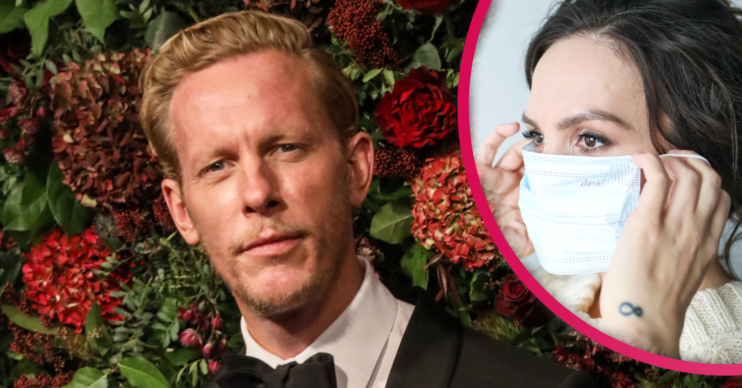 Laurence Fox outraged Twitter users when posted a snap of him wearing a false COVID mask exemption pass